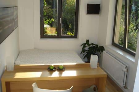 quiet bright room  in city center - Ixelles - Bed & Breakfast