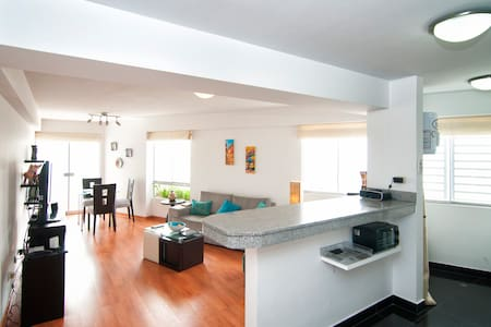 Perfect spot! 7Blocks from Larcomar - Miraflores District