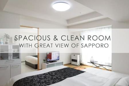 (0011)Special price +parking♥ Sapporo downtown - Sapporo - Appartement