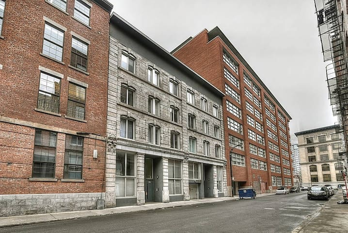 Penthouse Condo in Old Montreal (Terrace, Parking) - Montréal