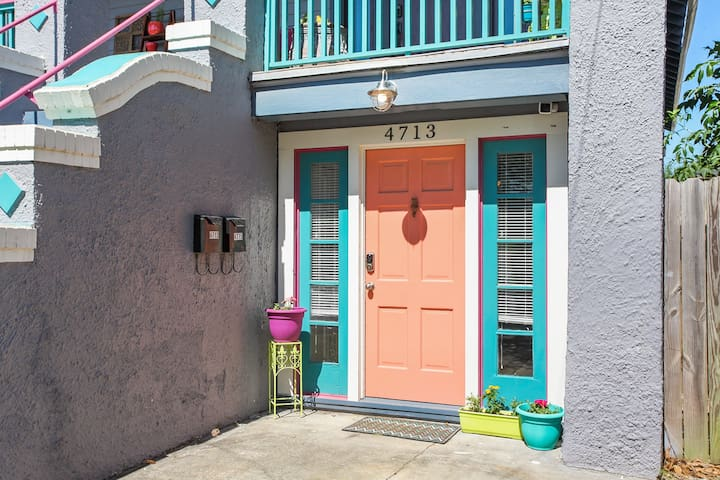 Lovely Mid City Apt., Walk to Canal Streetcar Line