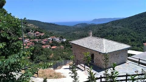 Oikia Panorama - Πέτρινη κατοικία στο Νότιο Πήλιο