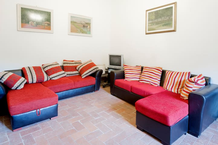I divani del soggiorno