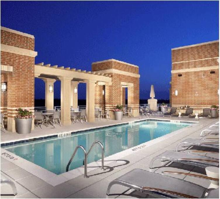 Rooftop Swimming Pool Open Seasonally~
