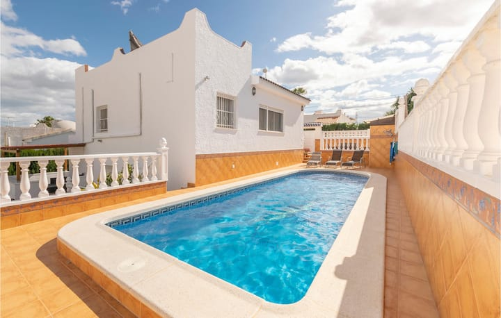 Awesome home in San Miguel de Salinas with WiFi and 3 Bedrooms