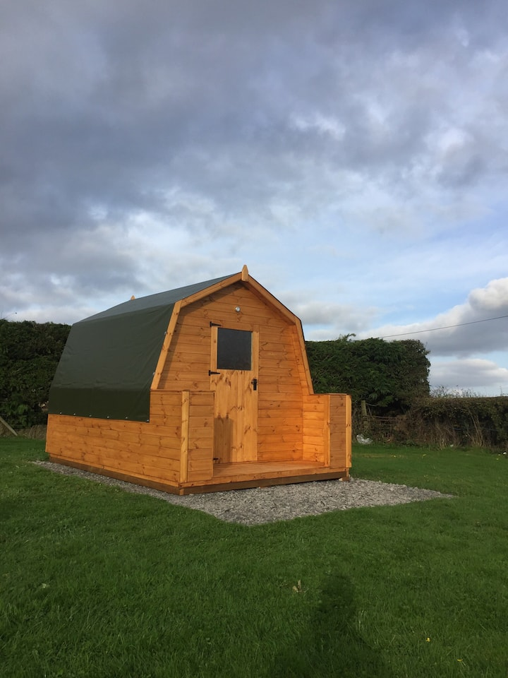 South View Camping Pod Shropshire