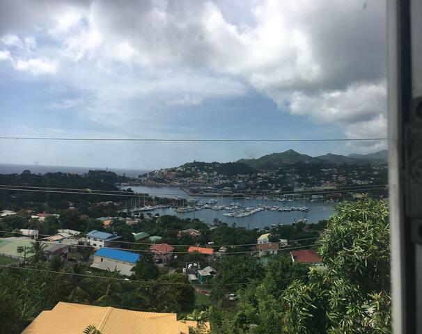"""""""Best View in Grenada"""" Caribbean Comfort"""