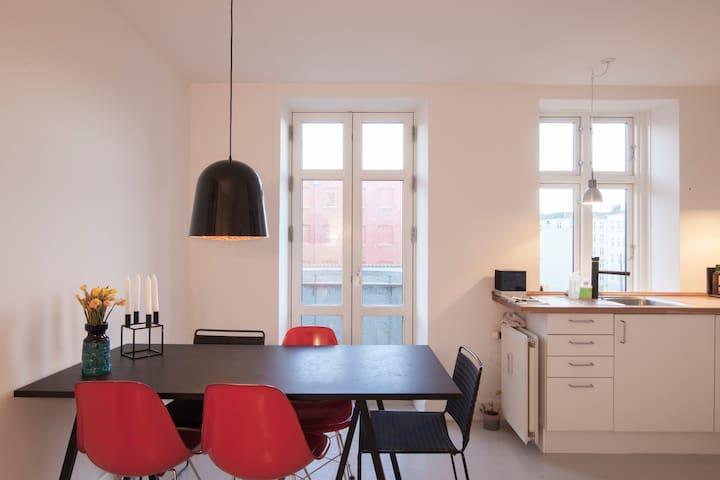 Cozy apartment in hip Vesterbro! - Copenhagen V - Appartamento