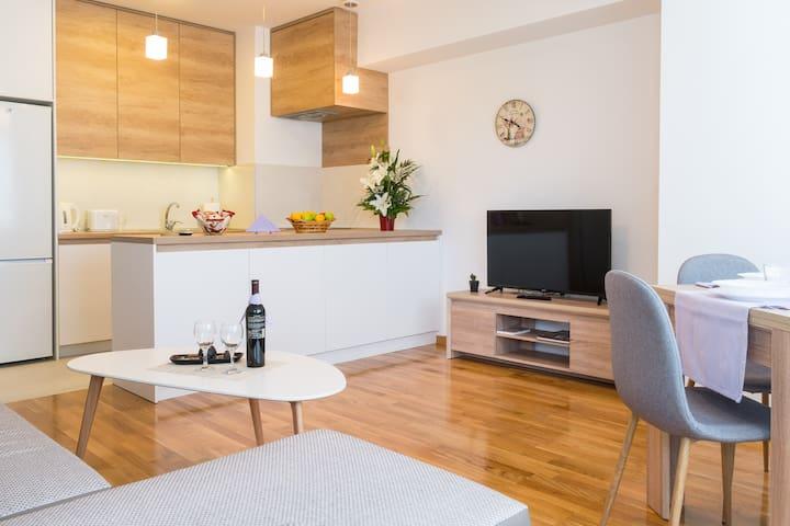 Extraordinary BRAND new modern  apartment!