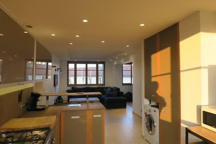 Appartement refait à neuf quartier moulin à vent