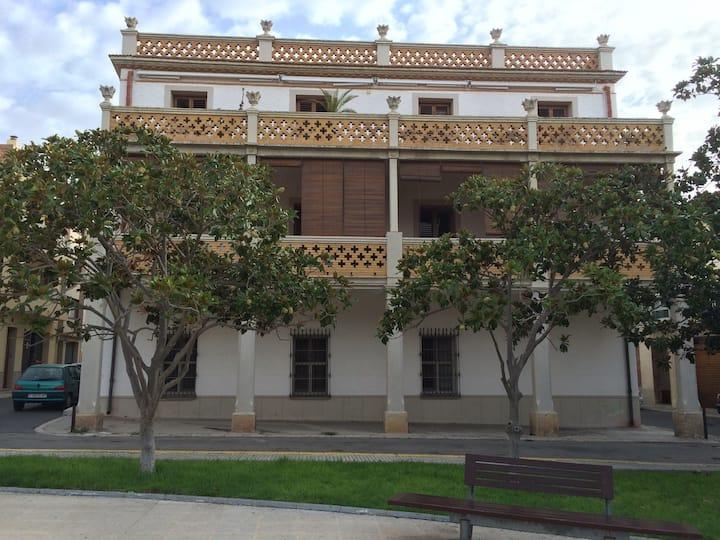 Apart encanto casa catalogada Amposta Delta Ebro