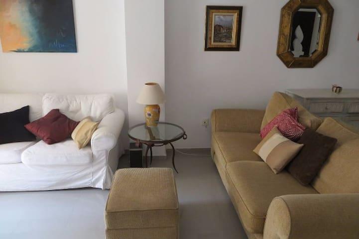 Confortable apartamento junto a la playa - Aguadulce