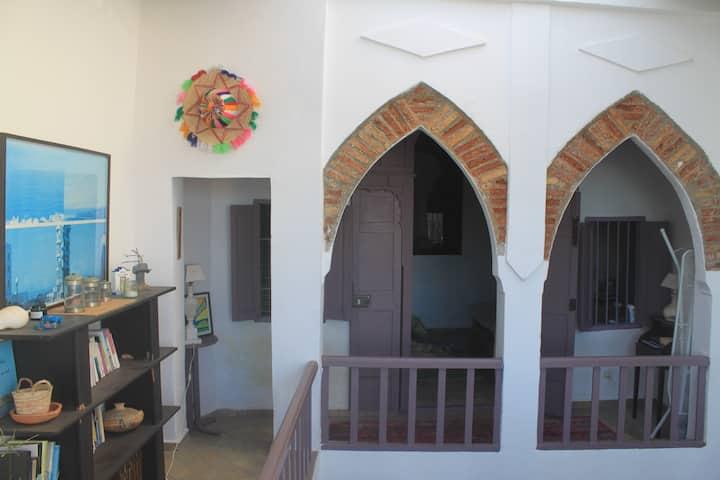 Petit riad type loft avec vue incroyable sur Rabat
