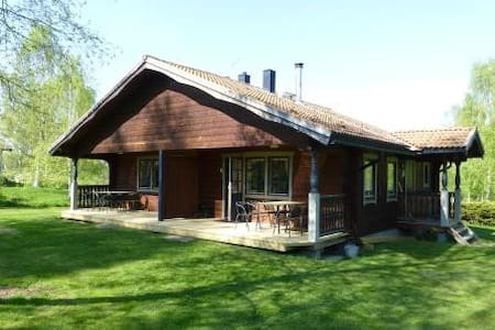 "Great Dala twin-cabin named ""Olle""! - Gesunda, Sollerön"