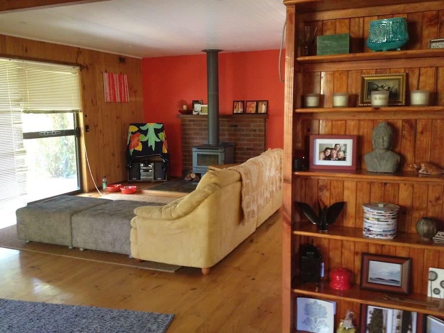 big open plan living area is very relaxing
