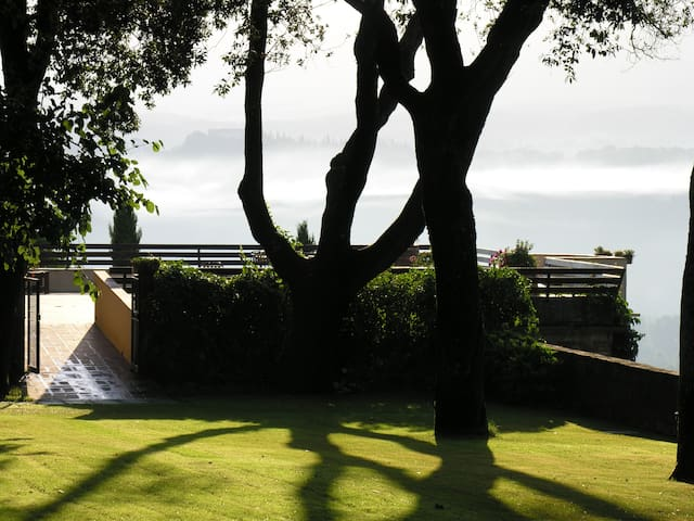 Apt of 55 sqm in Villa with Swimming Pool