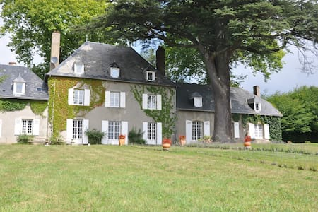 French mansion in Limousin, pool - Slot