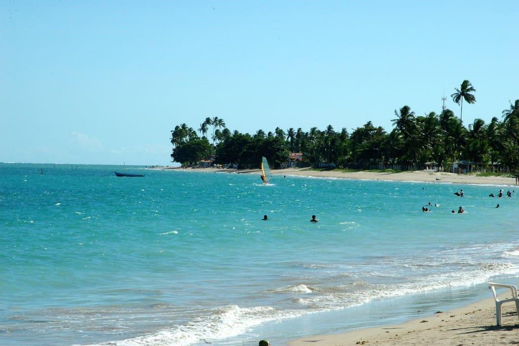 Praia tranquila
