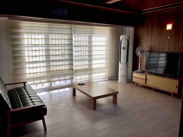 Orange House(실평수30평+복층 다락방)해운대,미포,달맞이
