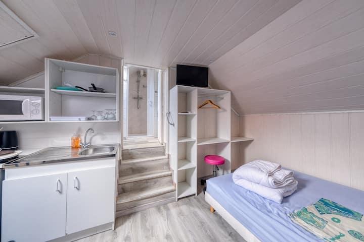 Le mini-studio sous les toits