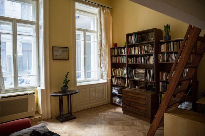 Rustic, peaceful shelter at Gellért Hill - Budapest - Apartamento