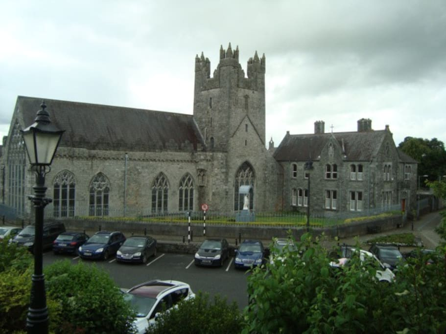 Black Abbey Church in Kilkenny City