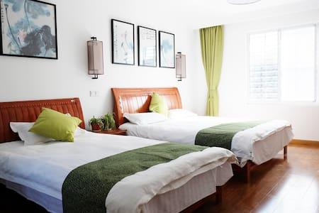 位于同里古镇景区内 森之旅设计师客栈  【二楼 亲子家庭房 双床】 - Casa