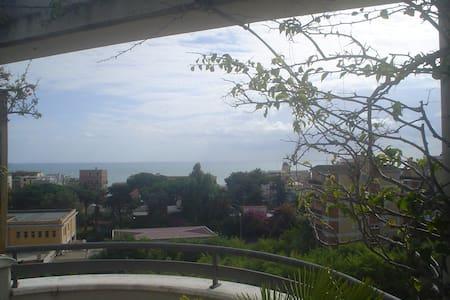 Attico con terrazzo vista mare - Nettuno - Apartament