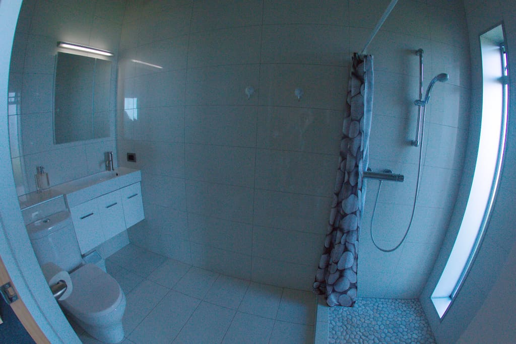 Ensuite (toilet & shower).