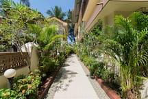 Walkway to entrance