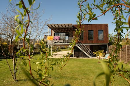 Maison architecte ossature bois - Saint-Jacut-de-la-Mer - 独立屋