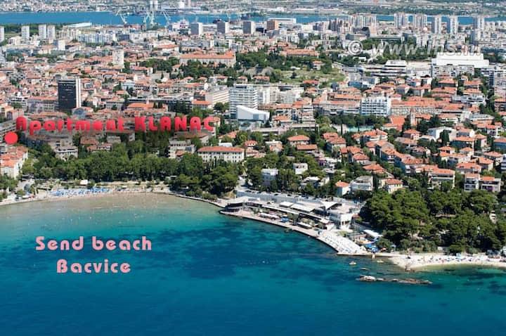 center beach AP Zvonimir 2+2