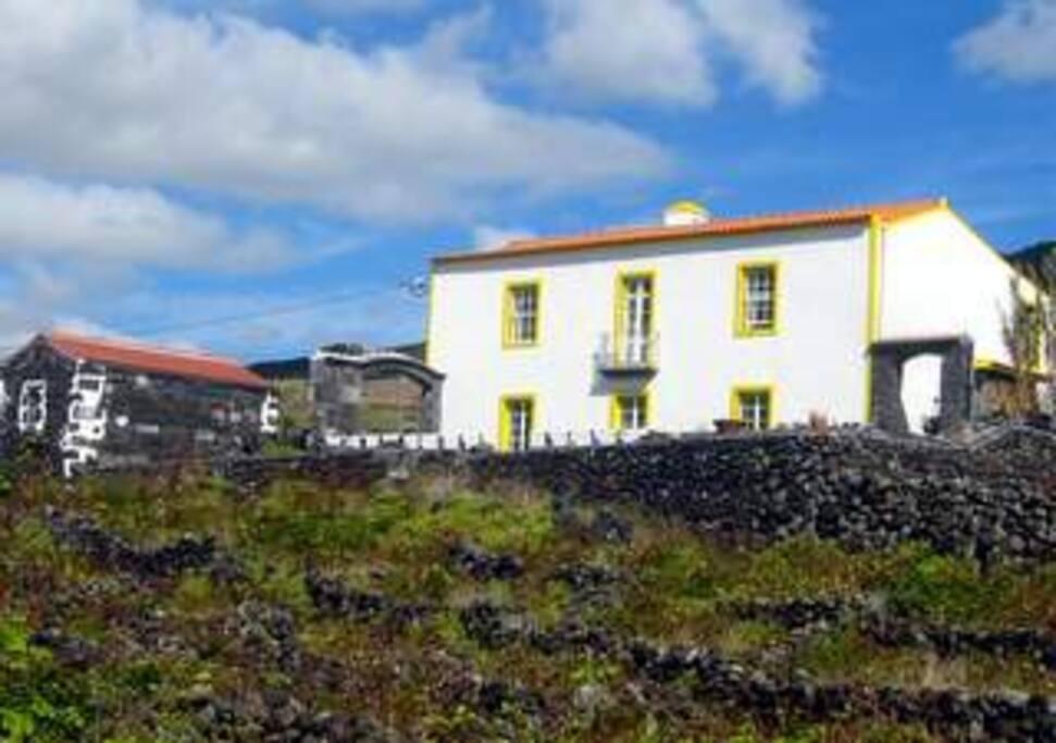 Die Quinta von der Meerseite aus