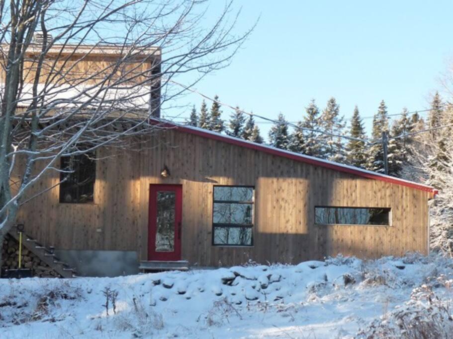 Ancienne bergerie reconvertie en studio-loft