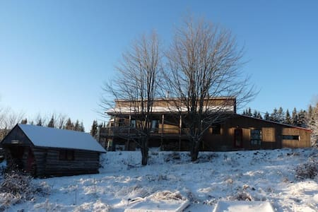 Beautiful old barn house with view - Saint-Malachie
