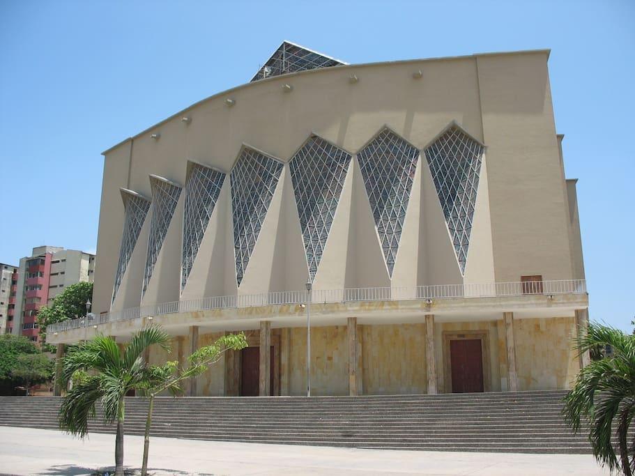 Catedral de Barranquilla.