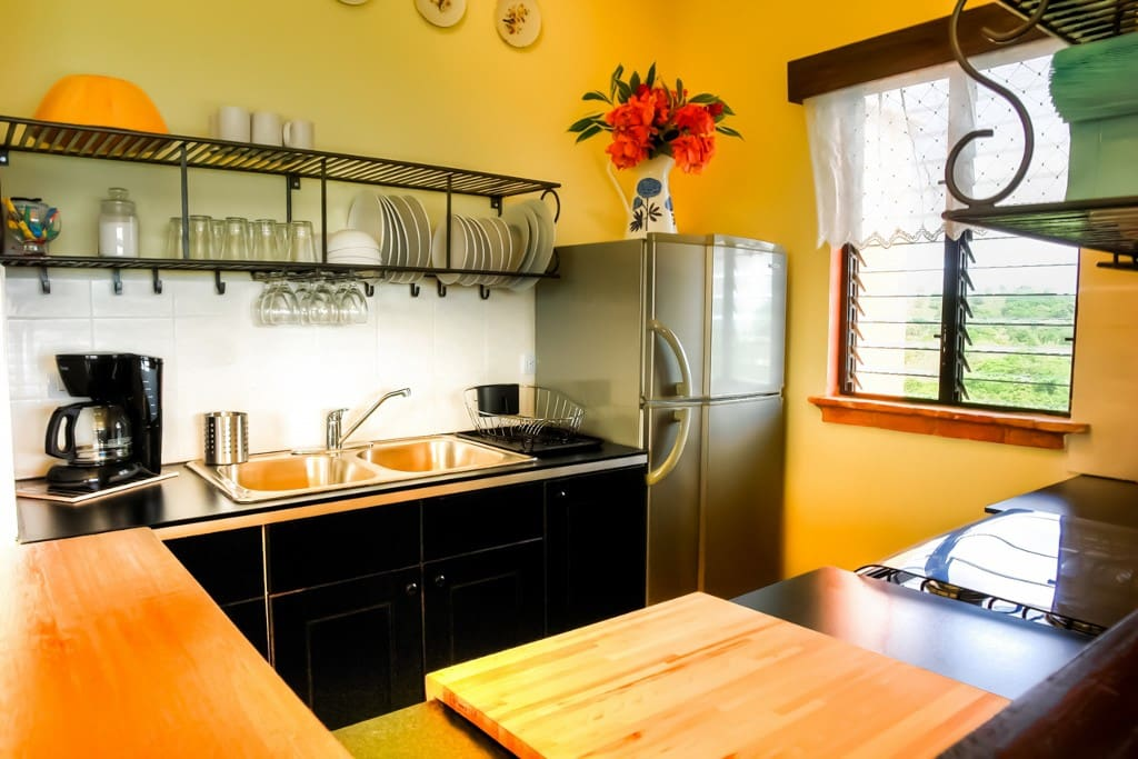 Fully furnished kitchen or let our cook prepare you meals...