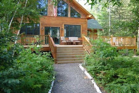 Executive house on Chippewa Flowage