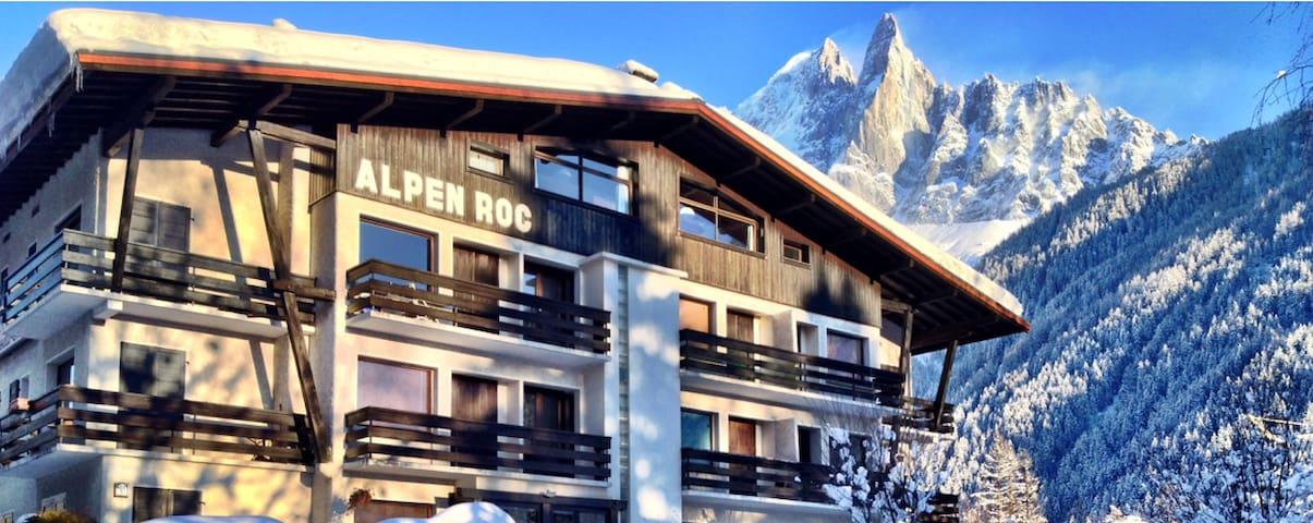 Mountain view apartment, Les Praz, Chamonix