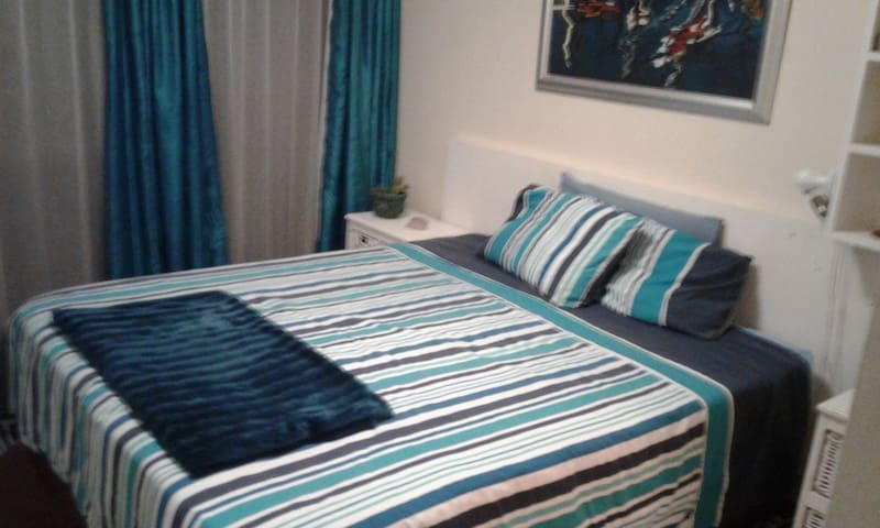 Couples to double bed or single person.