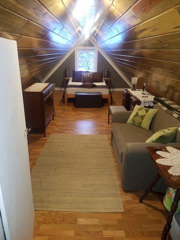 Second floor bedroom.