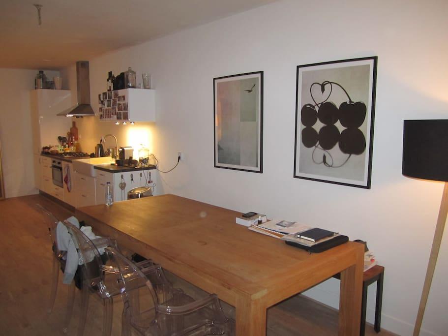 Open new kitchen