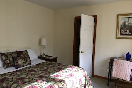 Green Pine Bedroom! Queen Size Bed - 2 Guests! - Albany - Ház