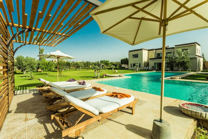 Exceptional Villa with Pool, 20min from Marrakech - マラケシュ - 別荘