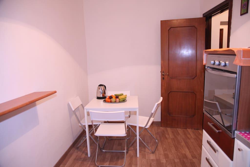 Joy's suite home in Rome Vatican