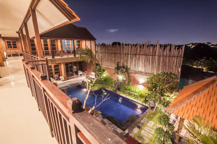 W. Village canggu deluxe double 2 bedrooms-4