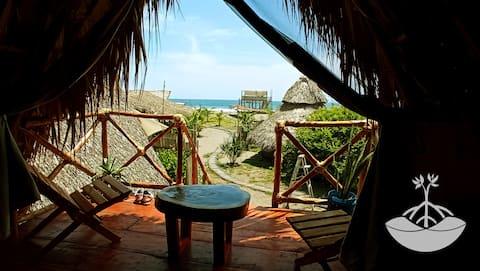 Cabaña Tecolote, Super vista al océano pacifico