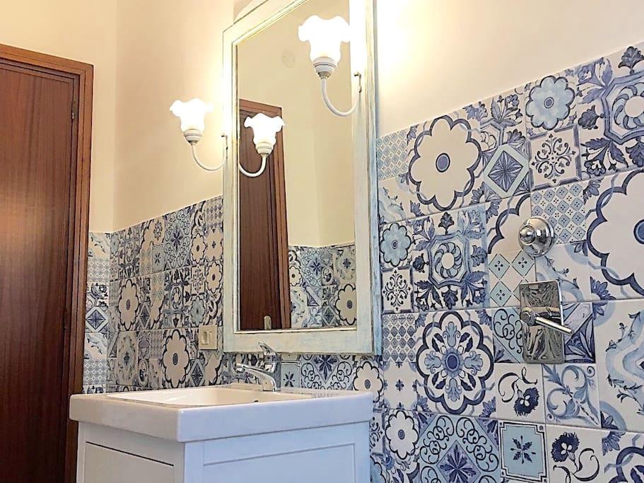 Secondo bagno con piatto doccia