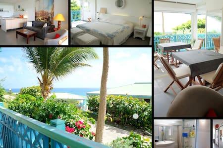 Appartement à 2 min plage de la B.O - Grand-Case - Leilighet