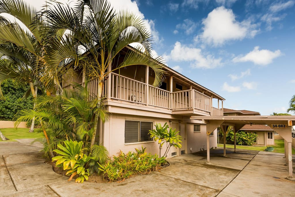 Welcome to your perfect Hawaiian style getaway. This property sits just a short walk from the beach and is located on the lush tropical side of windward Oahu. The home is perfect for families who want a great stay at a great price!